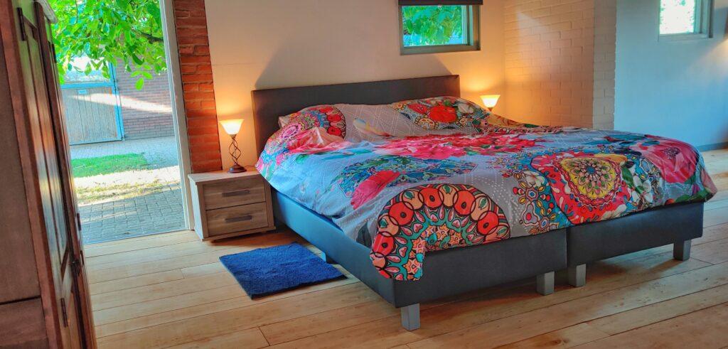 Slaapkamer B&B Het Bospaard
