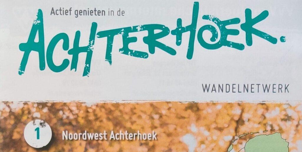 Wandelkaart 1 - Noordwest Achterhoek Wandelnetwerk