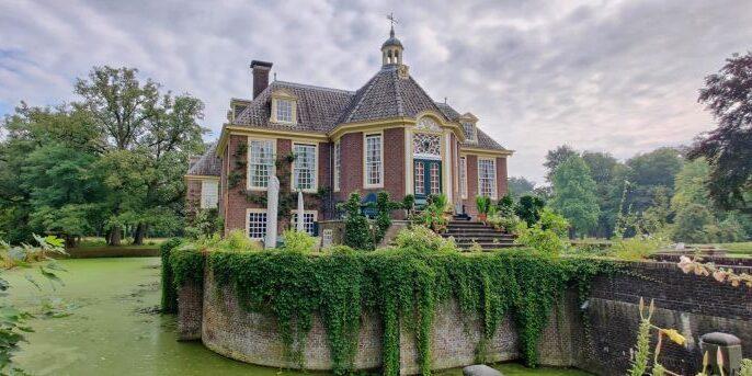 Kasteel de Wiersse, met historische tuinen in Vorden